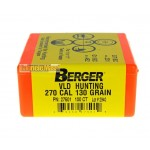 Berger 30510  VLD Hunting .30 gr.168