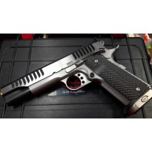 Bul 1911 Trophy Saw Polished Slide Tin Barrel cal. 9x21