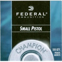 Federal Inneschi Small Pistol Primers