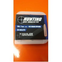 Hasler Hunting Palle cal. 7mm (.284) 145 grain special