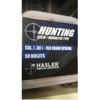 Hasler Hunting Palle cal. (30) 168 grain special