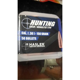 Hasler Hunting Palle cal. (30) 150 grain special