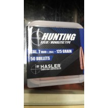 Hasler Hunting Palle cal. 7mm (.284) 125 grain